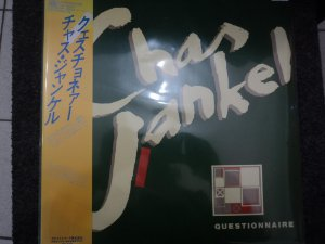 CHAS JANKEL -QUESTIONNAIRE LP JAPONES(INCLUINDO GLAD TO KNOW YOU)