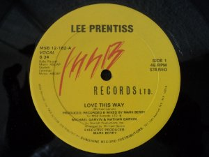 LEE PRENTISS - LOVE THIS WAY