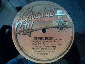 VERNON BURCH - NEVER CAN FIND A AWAY