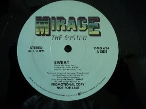 THE SYSTEM - SWEAT/YOU ARE IN MY SYSTEM