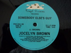 JOCELYN BROWN - SOMEBODY ELSES GUY