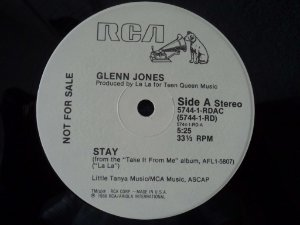 GLENN JONES - STAY