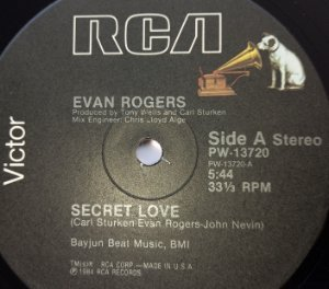 EVAN ROGERS SECRET LOVE