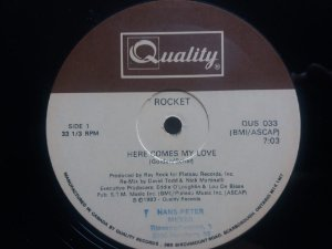 ROCKET - HERE COMES MY LOVE - (MA)