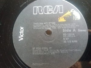 THELMA HOSTON - IF YOU FEEL IT - (MA)