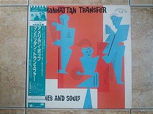MANHATTAN TRANSFER - BODIES AND SOUL ( INCLUINDO SPICE OF LIFE ) - LP JAPONÊS (MA