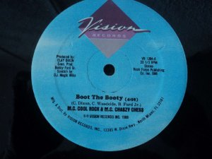 MC COOL ROCK - BOOT THE BOOTY