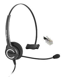 Tecxel TX11 RJ9 - Headset Monoauricular para Telefones