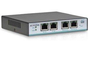 Gateway E1 VOIP Aligera AG562 - 2 portas E1 (R2/ISDN) SIP