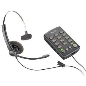 Telefone Plantronics T110 com fone de Ouvido Monoauricular