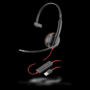 Headset Plantronics Usb C3210