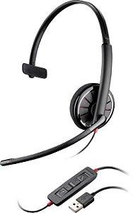 Headset Plantronics USB Monoauricular C 310-M 85618-01