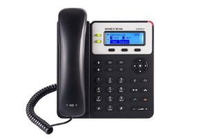 Grandstream GXP1625 - Telefone IP com fio POE e Backlight