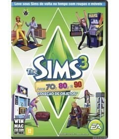 Game The Sims 3 Anos 70, 80 e 90 - PC