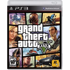 Game Grand Theft Auto GTA V - PS3