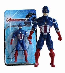 Boneco 12cm Super Heróis Aventureiros