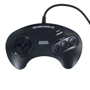 Controle Joystick 3 Botões para Mega Drive - Tectoy