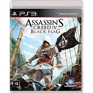 Game Assassin's Creed IV Black Flag Português - PS3
