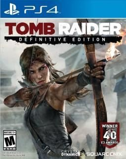 Game Tomb Raider Definitive Edition - PS4
