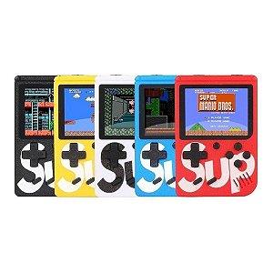 Video Game Portátil Retrô Sup com 400 Jogos Clássicos - Cor à Escolha