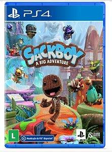 (PRÉ-VENDA) Sackboy Uma Grande Aventura - PS4
