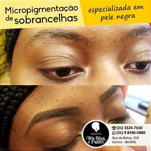 Micropigmentação de sobrancelhas - Especializada em Pele Negra