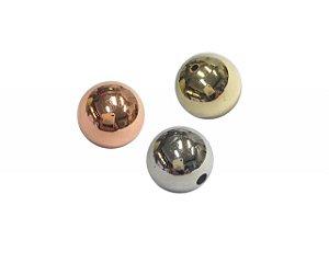 00-0030 Pacote com 1 Kg de Bola em ABS com Passante 6mm