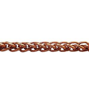 09-0234 - Rolo com 100 Metros de Corrente Cordão em Ferro 3,5mm