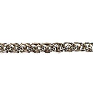 09-0156 - Rolo com 100 Metros de Corrente Cordão em Ferro 3,5mm
