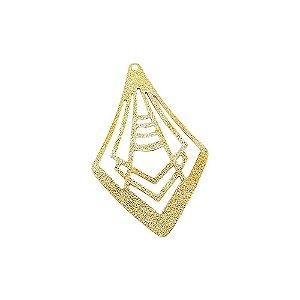 01-1763 - 1/2Kg de Estamparia Diamantada Losango 50mmx32mm