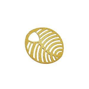01-1647 - 1/2Kg de Estamparia Diamantada Oval com Recortes 44mm