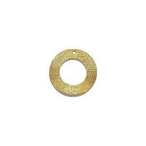 01-1197 - 1/2Kg de Estamparia Diamantada Aro Ondulado 25mm