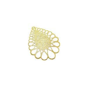 01-1638 - 1/2Kg de Estamparia Diamantada Gota 46mmx35mm