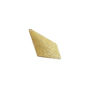 01-1486 - 1/2Kg de Estamparia Diamantada Losango Abaulada 31mmx20mm