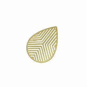 01-1882 - 1/2Kg de Estamparia Diamantada Gota com Recortes 24mmx33mm