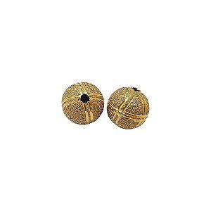 01-0802 - Pacote com 100 Bolas Diamantadas Riscas Verticais e Horizontais 12mm