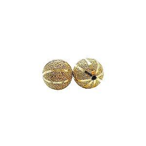 01-1478 - Pacote com 100 Bolas Diamantadas com Riscas Verticais 12mm