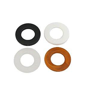 05-0264 - Pacote com 1 Kg de Acrílico Colorido Argola 30mm