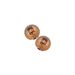 00-0151 - Pacote com 1 Kg de Bola Facetada em ABS 12mm