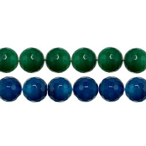 11-0145 - Fio de Esferas de Vidro Facetadas 14mm