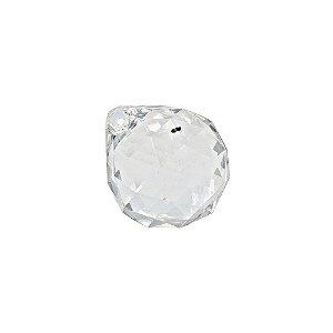 05-1090 - Pacote com 1 Kg de Acrílico Cristal Gota Pingente Facetada 26mmx30mm
