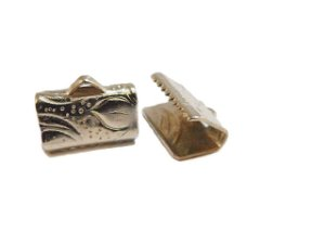 01-0033 Pacote com 1000 Terminais em Níquel 10mmx6mm