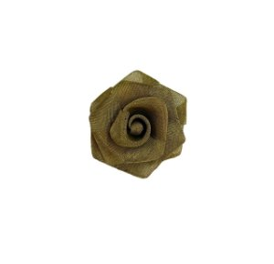 01-0735 - Pacote com 100 Flores de Tela em Latão 40mm