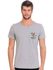 Camiseta Bolso Floral