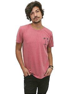 Camiseta Salmão Stoned