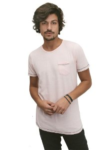 Camiseta Flamê Rosa