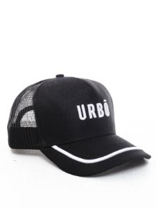 Boné Trucker Urbô Black