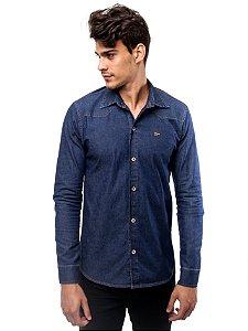 Camisa Jeans Winter Dark Blue