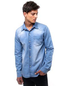 Camisa Jeans Winter Stoned Blue