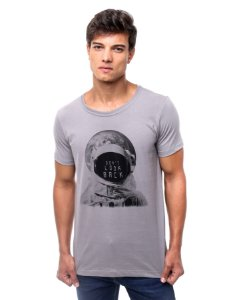 Camiseta Don't Look Back Cinza